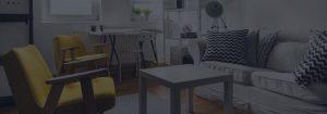 Sitting place in studio flat